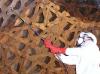 Tratamiento curativo de estructura de madera, con de amplia penetración. Museo de la Alhambra de Granada.