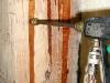 Inyección: Tratamiento curativo antixilófagos (inyección) de estructura de madera