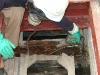 Inyección: Tratamiento curativo antixilófagos (inyección) de intrados de estructura de artesonado Museo Nacional de Escultura de Valladolid