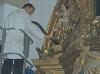 Limpieza superficial del Retablo Convento de Clarisas (Cáceres)